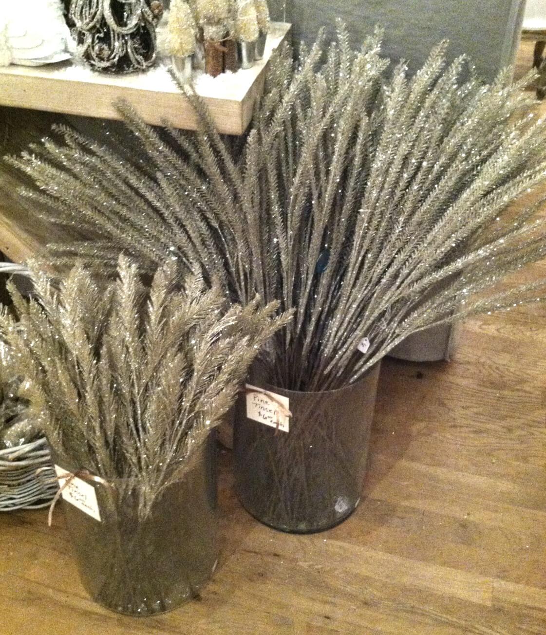 pine tinsel